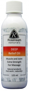 Deep Relief Massage Oil (125 ml)